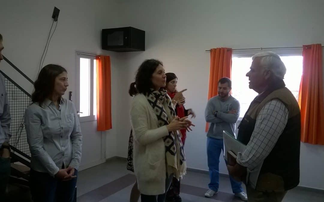 El Director de Región Sanitaria II visitó Trenque Lauquen