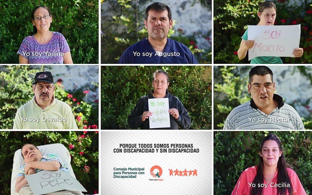 Videos para tomar conciencia sobre la inclusión a personas con discapacidad