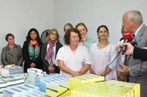 Donación de medicamentos para el Hospital