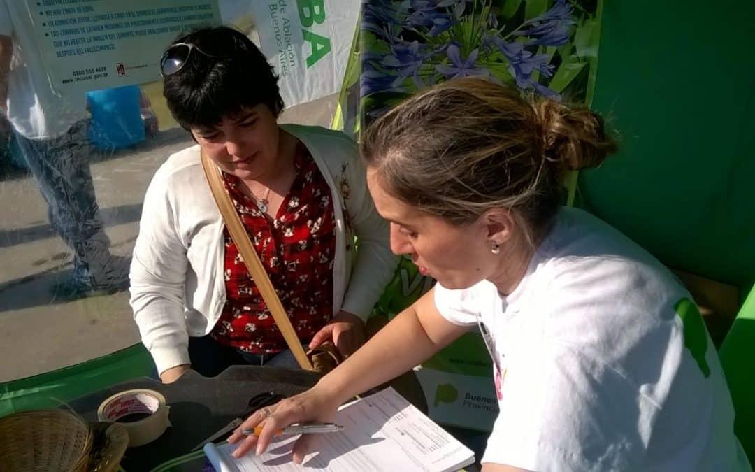 Donación de órganos: Cucaiba y el Municipio realizaron una campaña ayer en el Parque