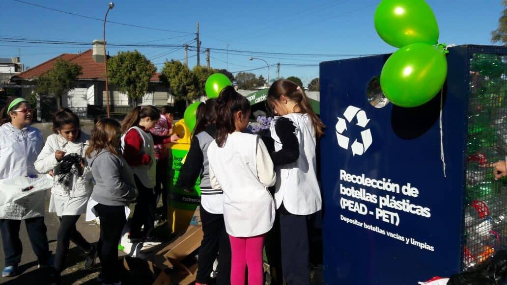 Se realizó la primera jornada de Eco Canje en 30 de Agosto