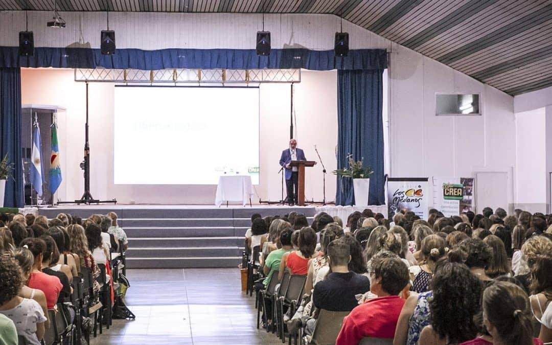 El intendente abrió el IV Congreso de Educación que se desarrolla en la ciudad