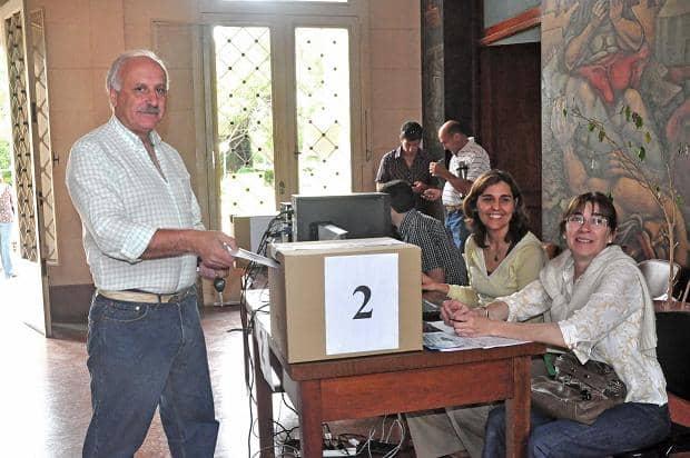 2 mil vecinos participaron de la elección del PP