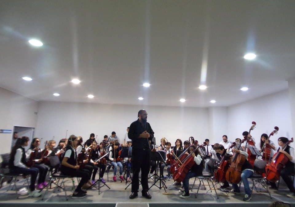 Se realizó un encuentro de Orquestas infantiles en la Escuela de Música