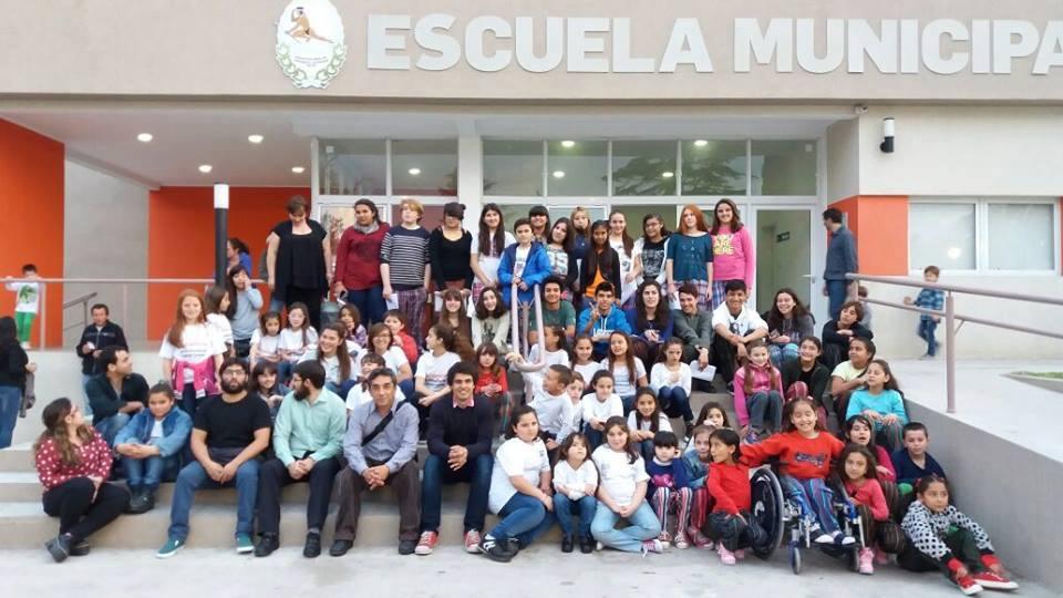 Se realizó un encuentro de Coros en la Escuela de Música