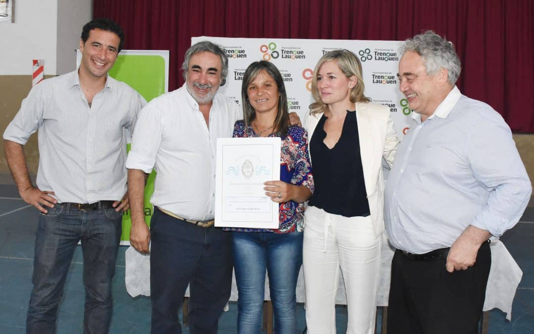 El Municipio concretó la firma y entrega de más de 100 escrituras