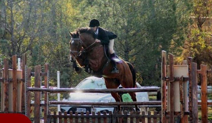 Equitación en Barrio Alegre