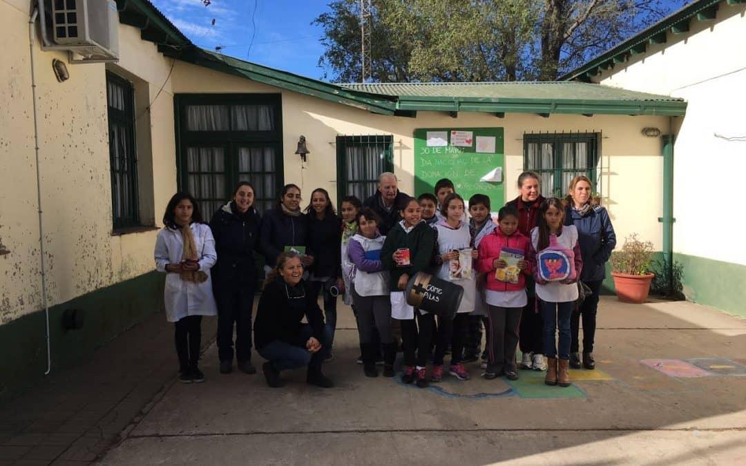 La Escuela rural 14 fue la primera en implementar el Programa Escuelas Rurales Verdes