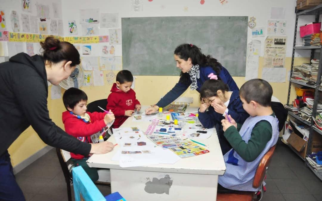 Se profundiza el trabajo en los talleres de reconversión del lenguaje