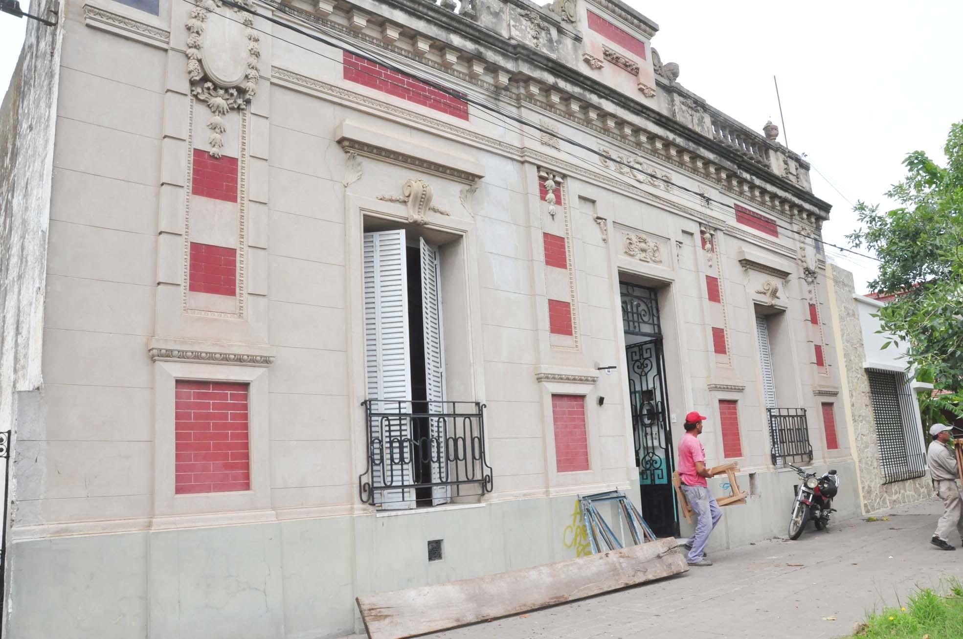 Comenzaron los trabajos en la ex Escuela Municipal