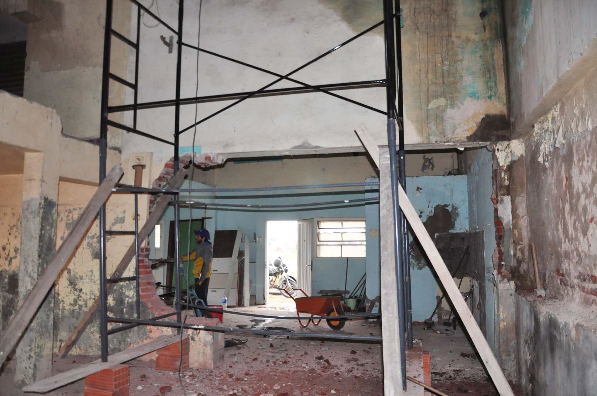 Se construye la Oficina de Reparto en el predio de la ex Serenísima