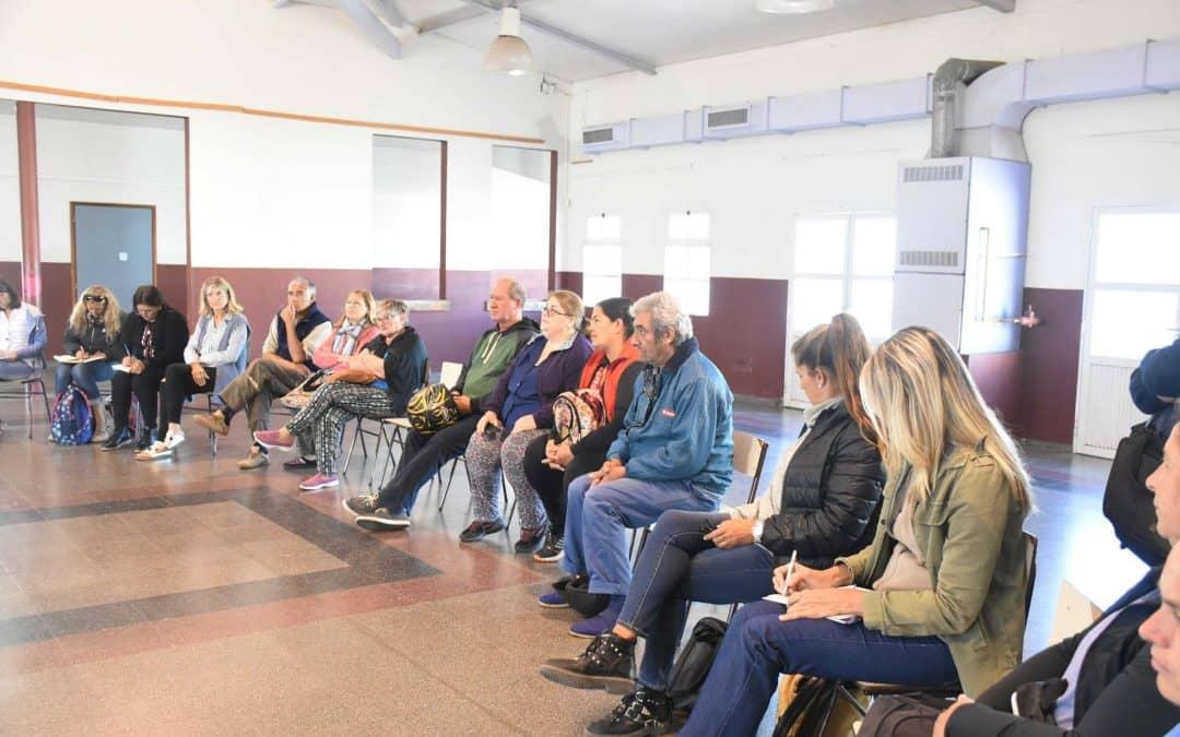 Se brindó una charla sobre exenciones y beneficios para jubilados y personas con discapacidad