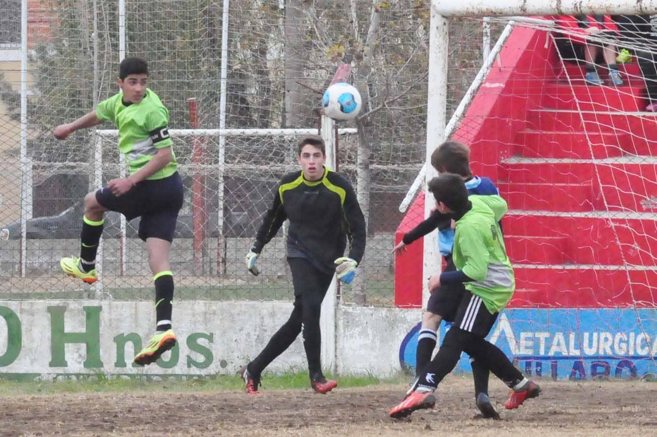 fútbol interregional - juegos Ba - junio 2015