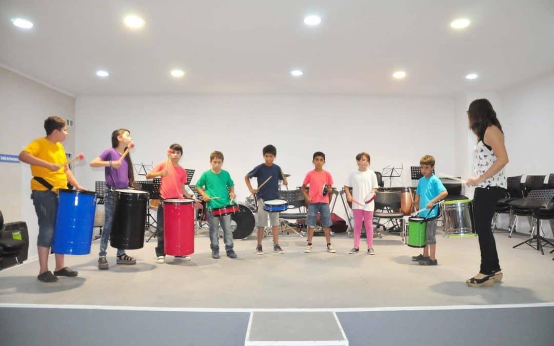 Encuentro de Orquestas Infantiles en la Escuela de Música