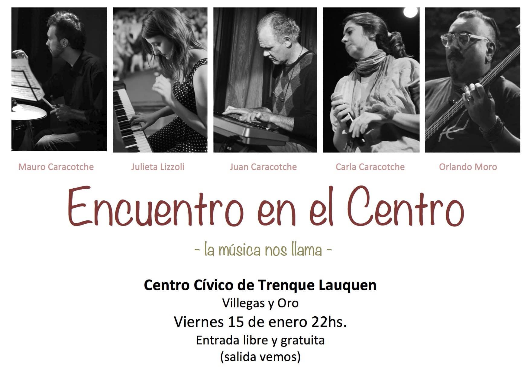 """Concierto: """"Encuentro en el Centro"""""""
