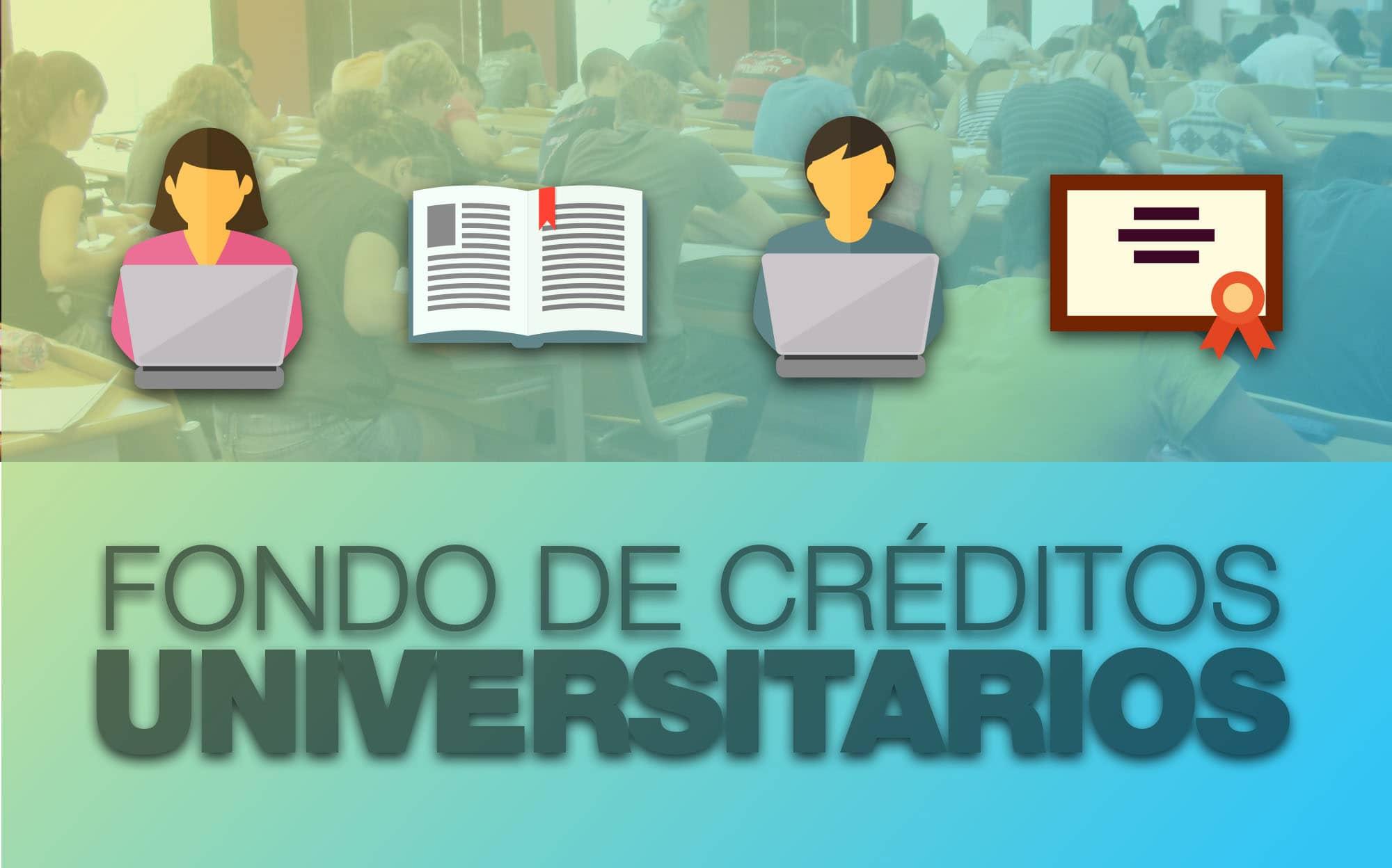 Listado de beneficiarios de créditos universitarios