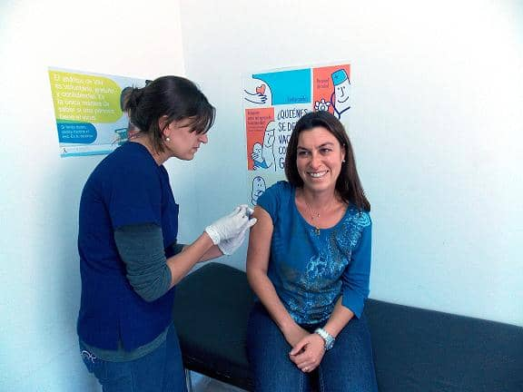 Vacunación antigripal 2015