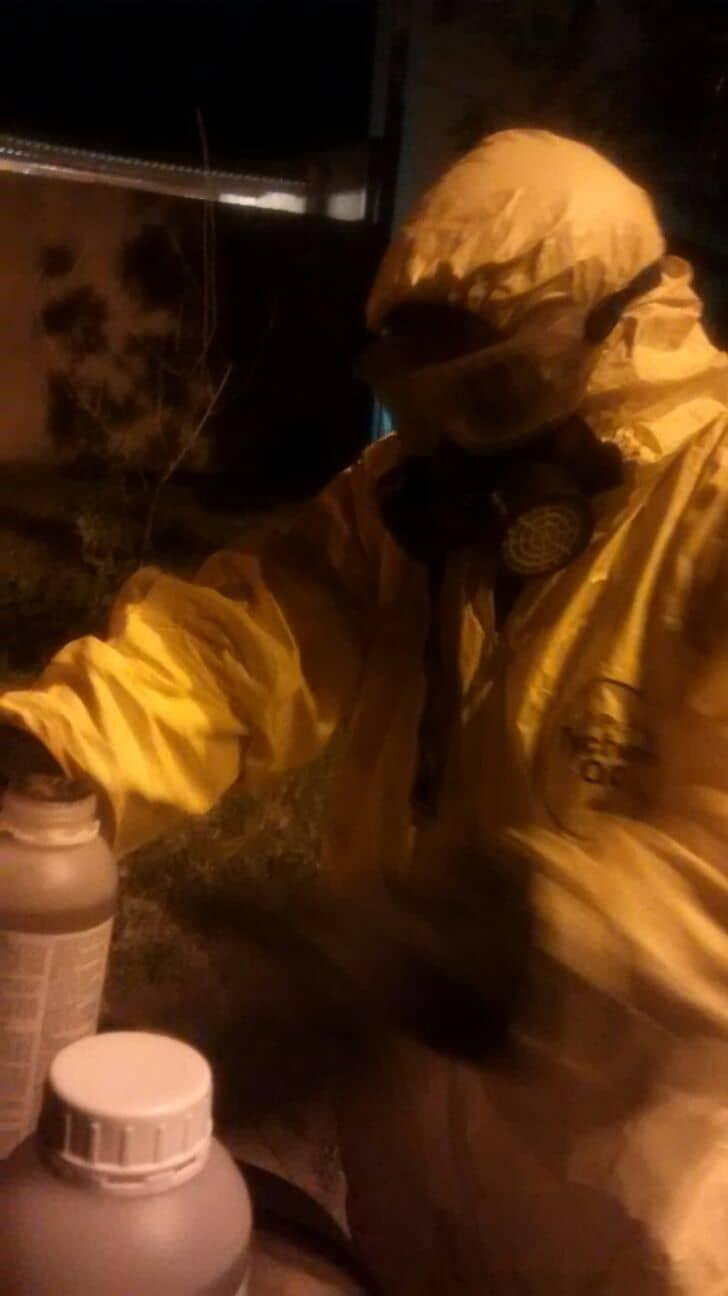 Inicia tercera etapa de fumigación contra mosquitos