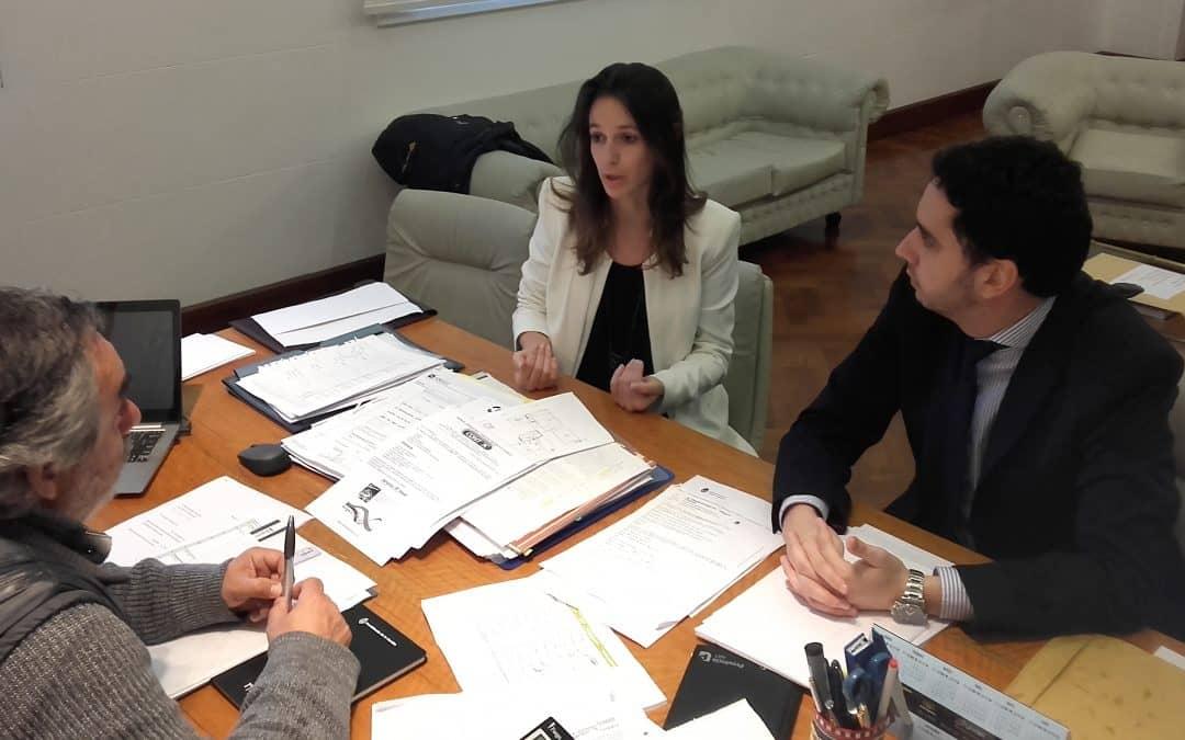 Fernández se reunió con funcionarios del Ministerio de Justicia para crear un CAVAJ