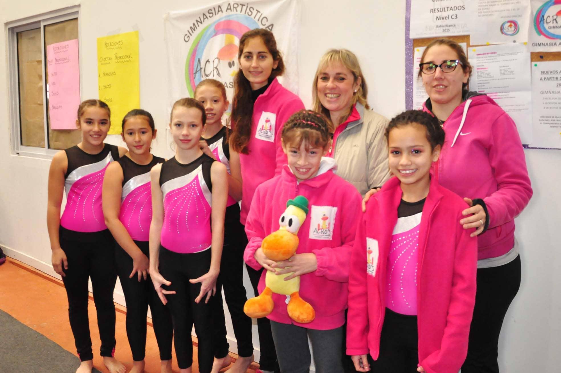 gimnasia artística - interregional juegos BA - junio 2015