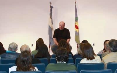Gustavo Grobocopatel ofreció una charla en Trenque Lauquen
