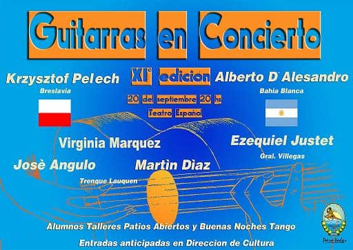 11º edición de Guitarras en Concierto