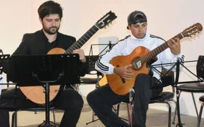 """EXCELENTE MARCO DE PÚBLICO EN EL ESPECTÁCULO """"GUITARRAS EN CONCIERTO"""""""