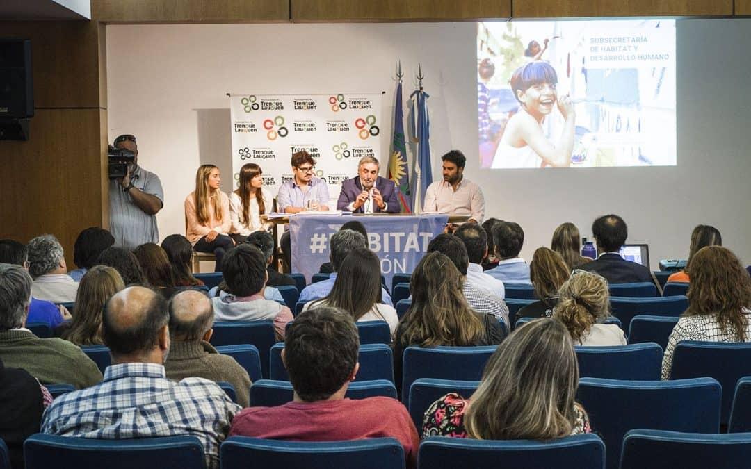 Fernández encabezó una Jornada Regional del Plan de Hábitat