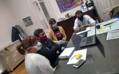 LA REALIDAD DE LOS HOGARES CONVIVENCIALES DURANTE LA PANDEMIA, EN UNA REUNIÓN CON EL ORGANISMO PROVINCIAL DE NIÑEZ Y ADOLESCENCIA