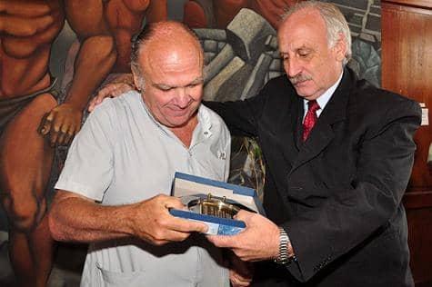 El Municipio reconoció al Dr. Raúl Delamata
