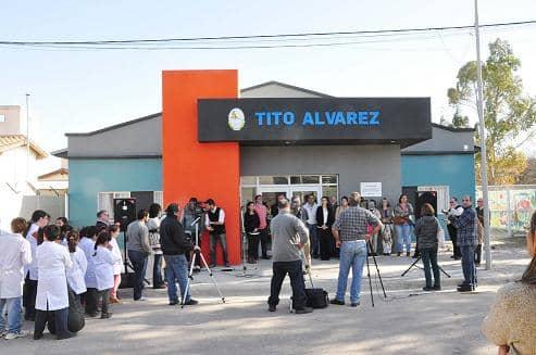 Inauguración en el Centro Tito Álvarez