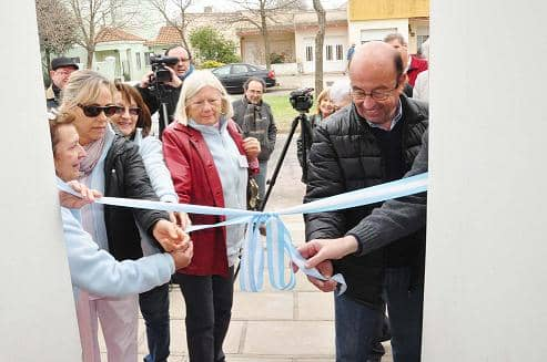 Se inauguró el Hogar de Tránsito de Cáritas