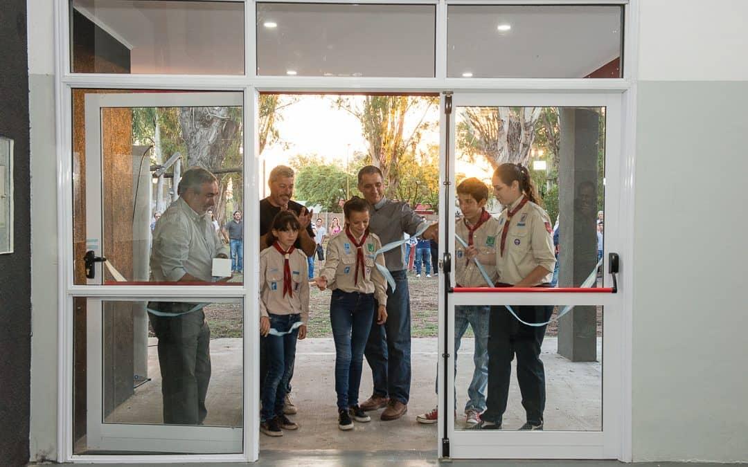 Quedó inaugurada la sede del grupo Scout, por el PP 2015