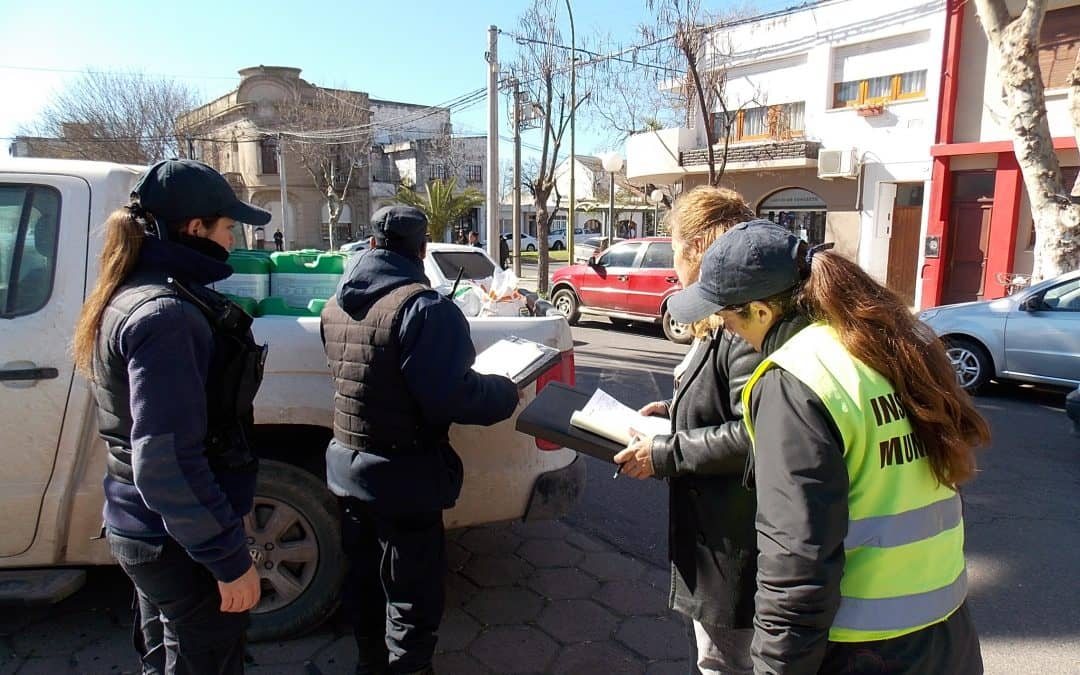 Se realizó una nueva infracción por circular con agroquímicos en la ciudad