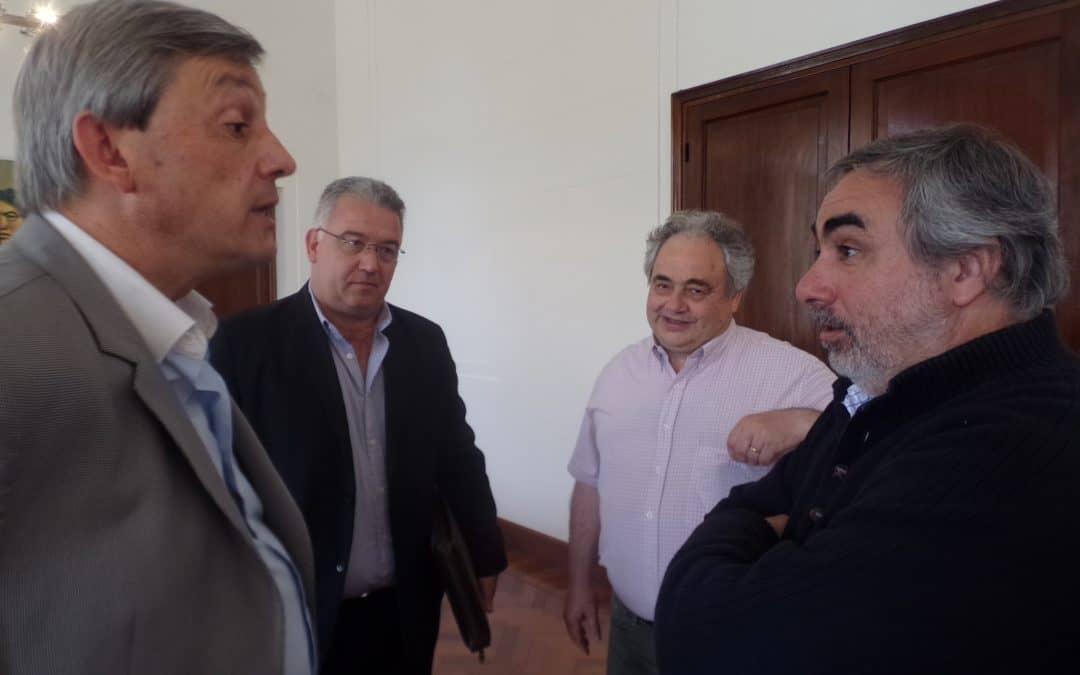 Fernández recibió a su par de Henderson y analizaron políticas regionales