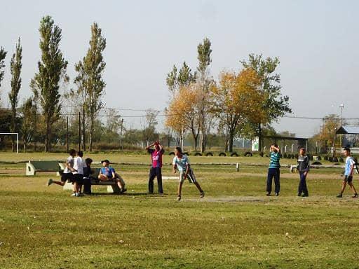 Interbarrial en el Polideportivo