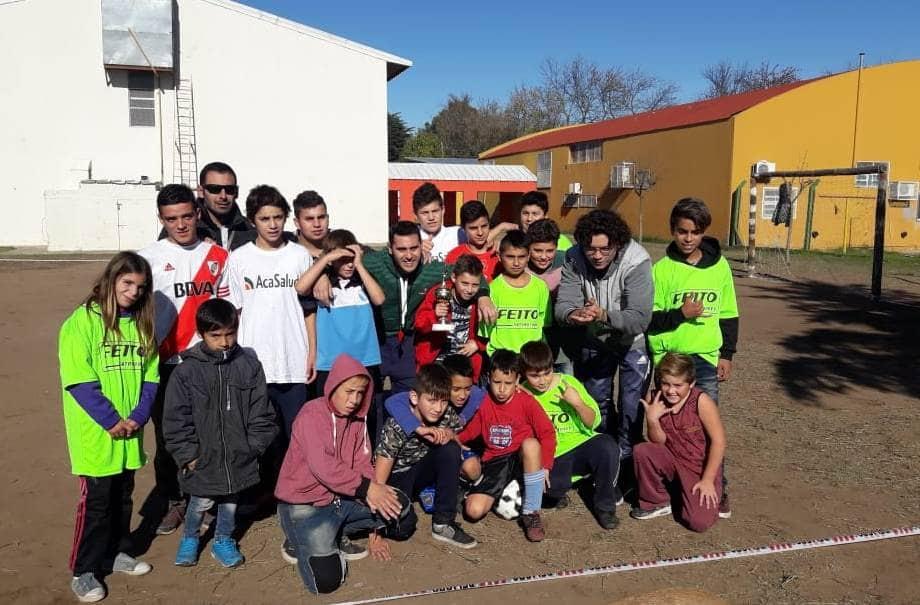 El Programa Envión realizó un torneo interbarrial de fútbol