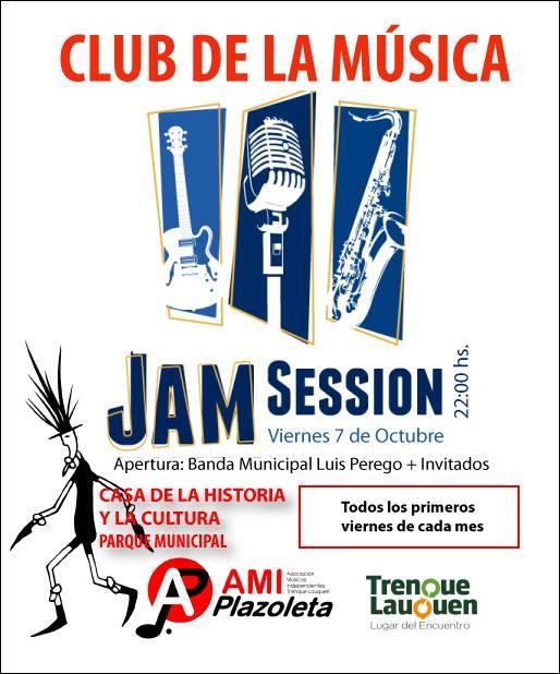 Nueva Jam Session en la Casa de la Cultura