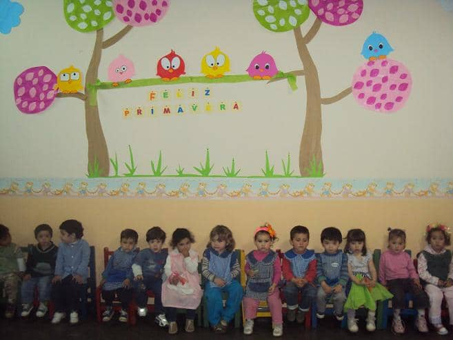 Los jardines maternales festejaron la llegada de la for Actividades para jardin maternal