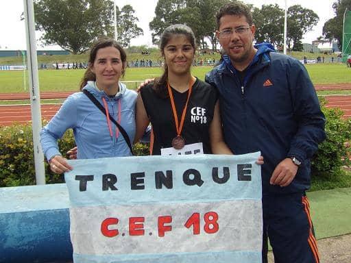 Primera medalla en Mar del Plata