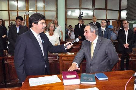 Fernández juró ayer en el HCD