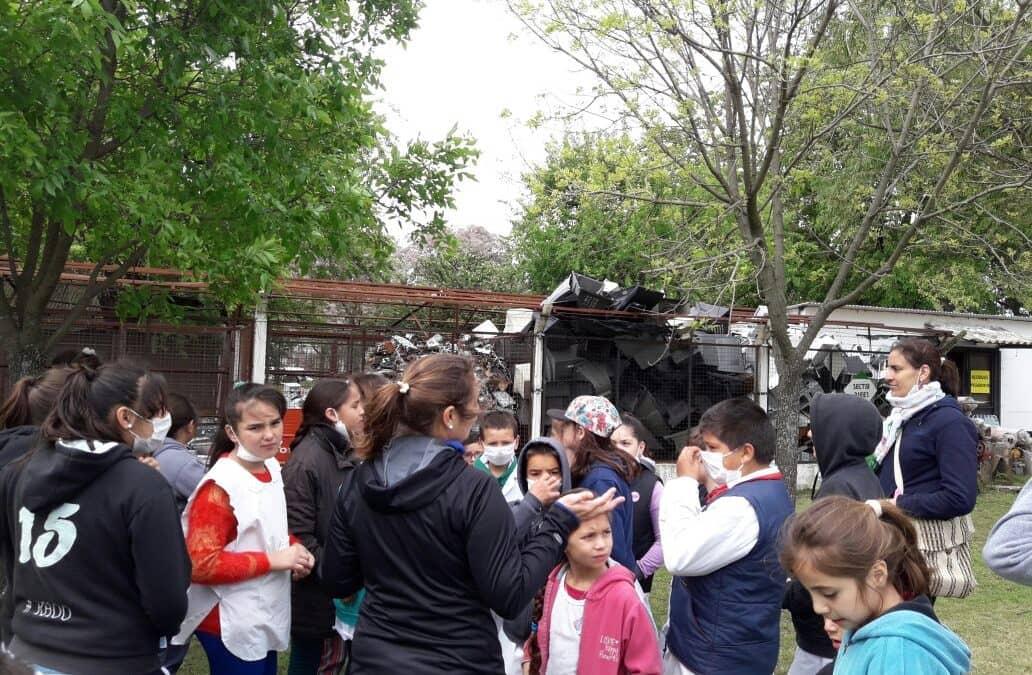 Alumnos de la Escuela Las Marías visitaron el Prolim