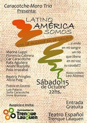 Música latinoamericana y Feria de los Pueblos Latinoamericanos por el mes de la Diversidad Cultural