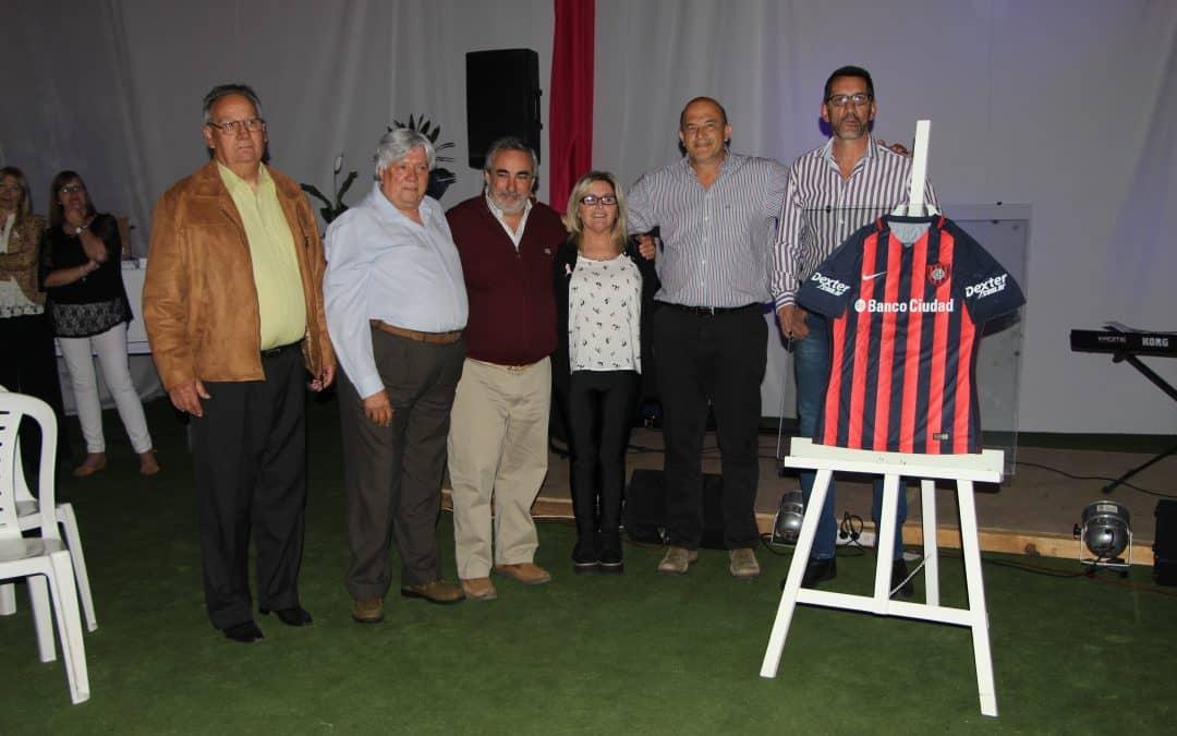 Fernández participó de la cena aniversario de Lipolcc de 30 de Agosto