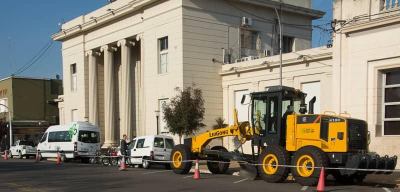Se invirtieron más de $5 millones en vehículos y una motoniveladora