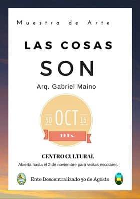 30 de Agosto: Muestra de Maino en el Centro Cultural