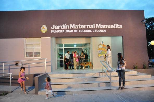 Se inauguró la obra del Jardín Manuelita