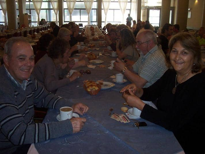 Primera Jornada de adultos mayores en Mar del Plata