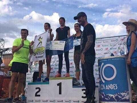Maratón en Bolívar: Arameo primera mujer en la General