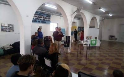 TARDE RECREATIVA Y ENTREGA DE 500 LIBROS EN EL CEPT Nº11 DE MARTÍN FIERRO
